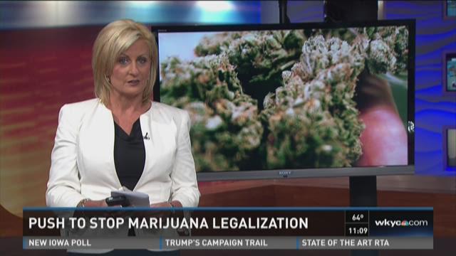 Push to stop legalization of marijuana