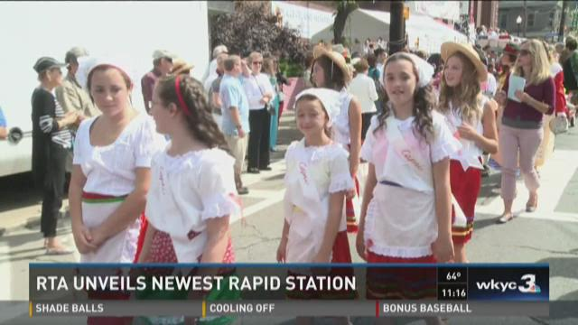 RTA Opens Red Line Station in Little Italy