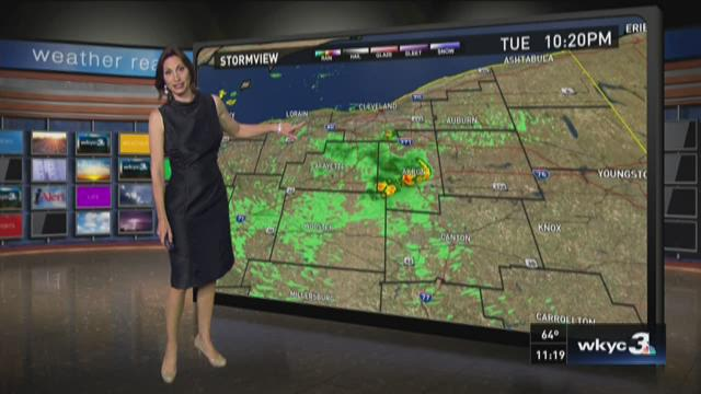 11 PM weather forecast for August 11,2015