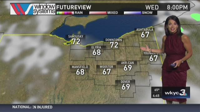Morning weather forecast for August 12, 2015