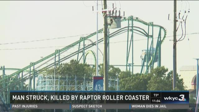 Man struck, killed by Raptor roller coaster at Cedar Point