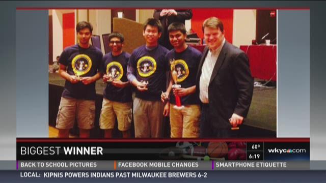 Biggest Winner: Solon Quiz Bowl Team