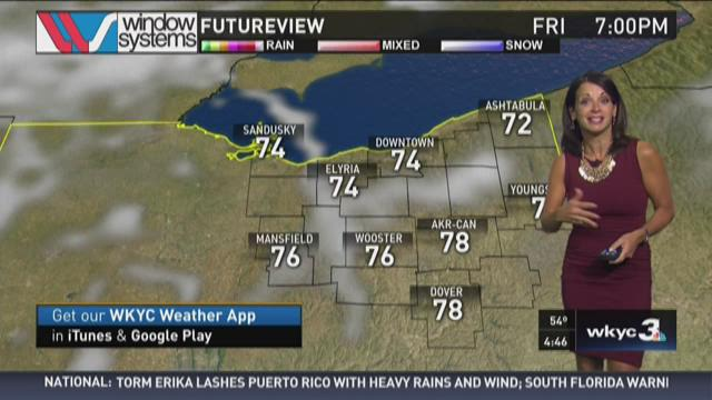 How is the weekend shaping up? Hollie Giangreco dishes the hour-by-hour details in her morning weather forecast for Friday, August 28, 2015. Be sure to follow @holliesmiles on Twitter for loads more daily weather updates.