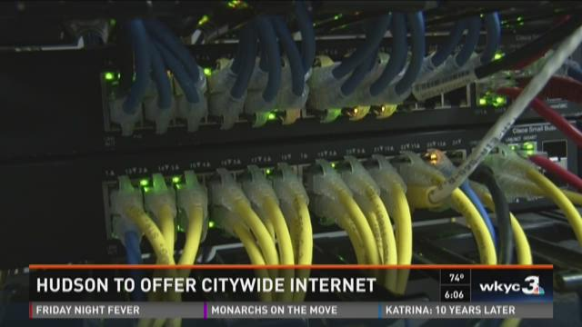 Hudson to offer citywide high-speed Internet