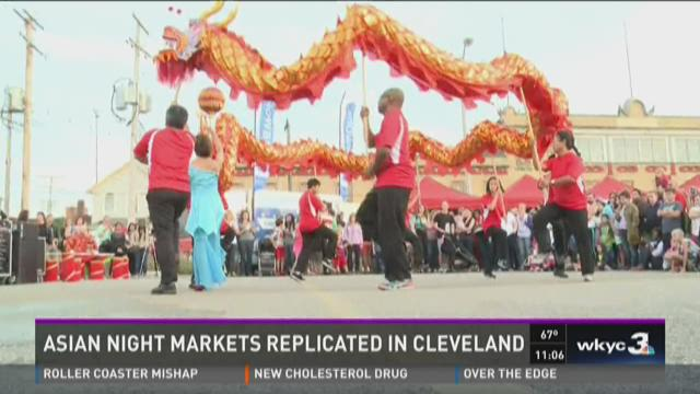 Asian night markets replicated in Cleveland