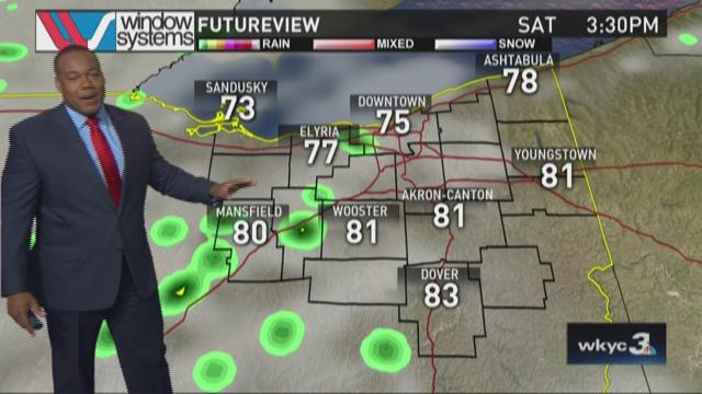 Saturday Afternoon Weather Forecast