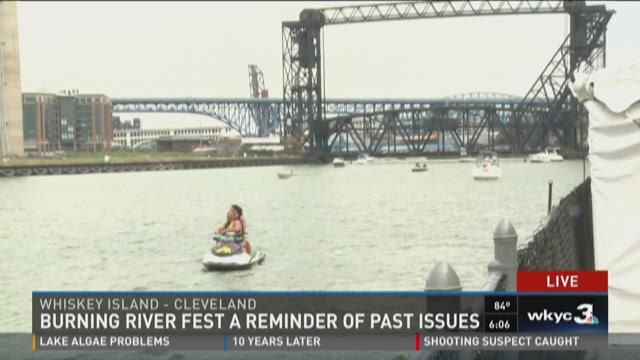 Burning river fest a reminder of past issues