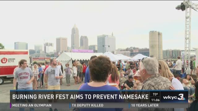 Burning river fest aims to prevent namesake