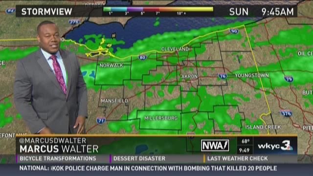 Sunday AM Weather Forecast