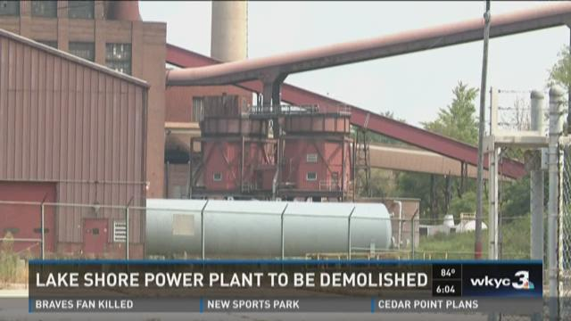 FirstEnergy's Lake Shore power plant to be demolished