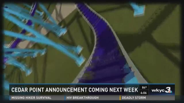 Cedar Point sets date for new ride announcement