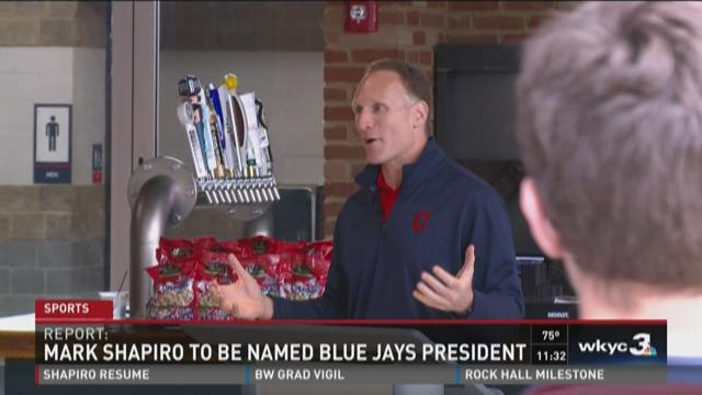 Reports: Indians President Shapiro leaving for Blue Jays.