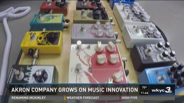 Akron based company reinvents guitar effect pedals