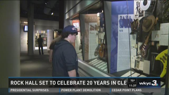 Rock Hall set to celebrate 20 years in Cleveland