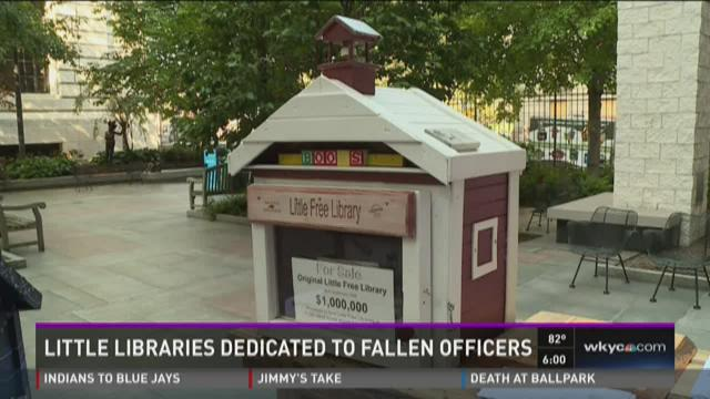 Little libraries dedicated to fallen officers