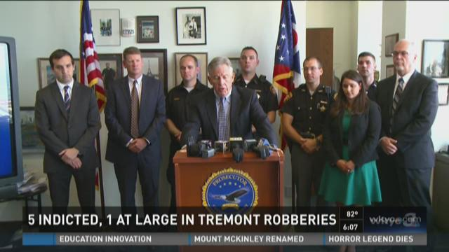 Suspects arraigned in Tremont robberies