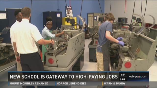 New school is gateway to high-paying jobs