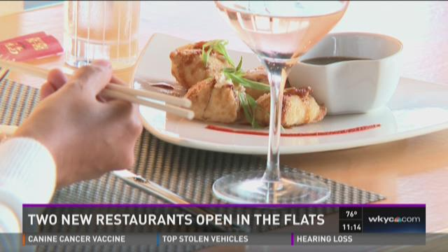 Two new restaurants open in The Flats