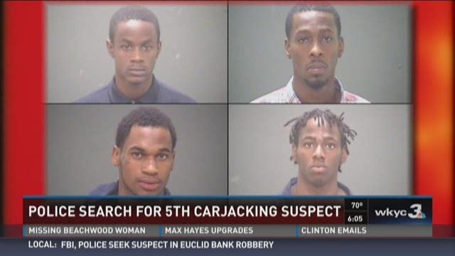 Police Search for 5th Carjacking Suspect
