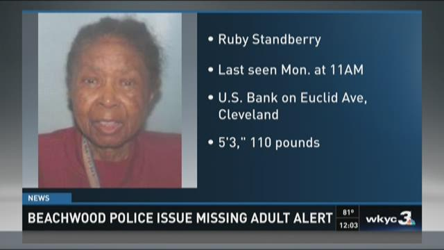 Endangering missing adult alert for Cleveland woman
