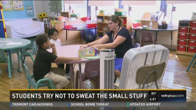 Students try not to sweat the small stuff