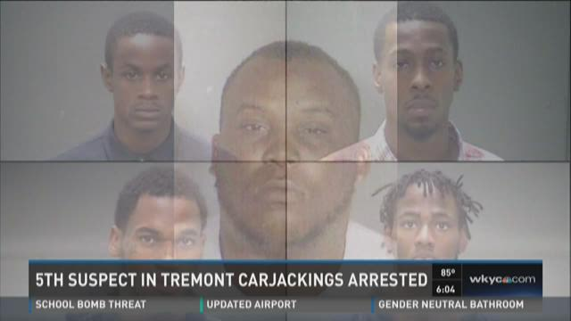 Fifth suspect in Tremont carjackings turns self in