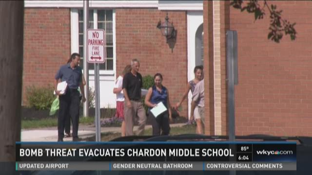Chardon Middle School evacuated due to suspicious message