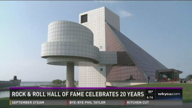 Rock and Roll Hall of Fame celebrates 20 years