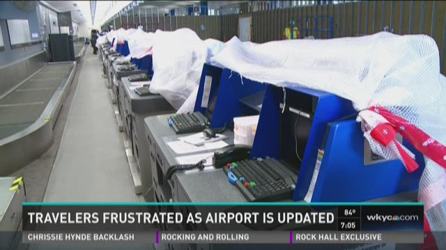Cleveland Hopkins Airport renovations
