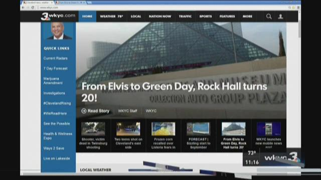 Cleveland celebrates Rock and Roll Hall of Fame's 20th anniversary