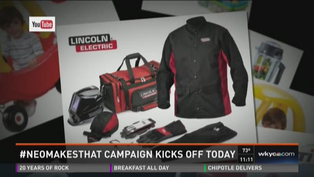NEOMakesThat campaign celebrates local manufacturers
