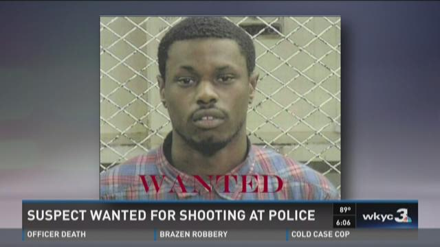 Man wanted for shooting at Cleveland police officers