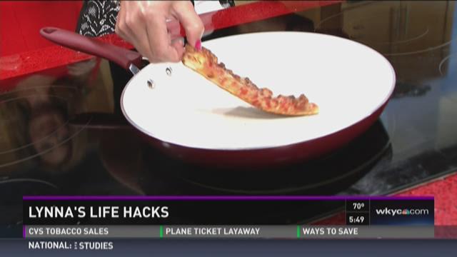 Lynna's Life Hacks: Best way to reheat pizza