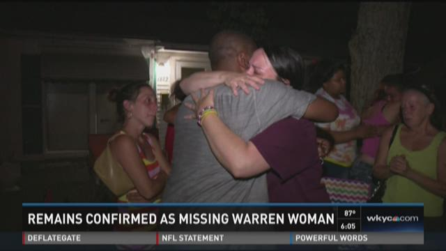 Sheriff: Remains identified as missing Warren woman