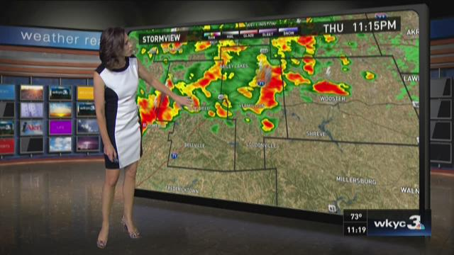 11 p.m. weather forecast for September 3, 2015