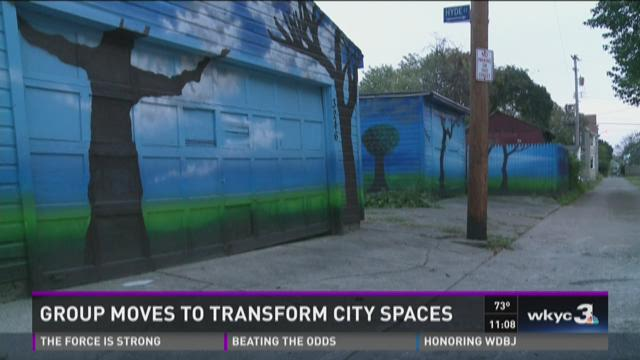 Group moves to transform city spaces
