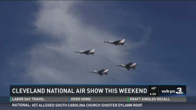 Cleveland National Air Show This Weekend
