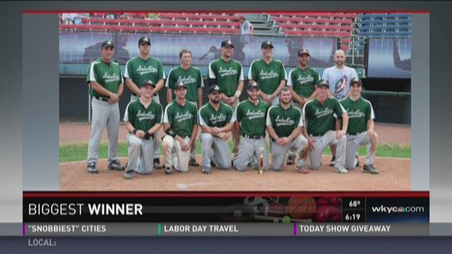 Biggest Winner: Lumberkings Men's baseball team.