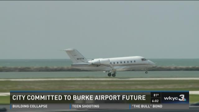 City committed to Burke Airport's future