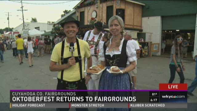 Oktoberfest returns to Cuyahoga Fairgrounds