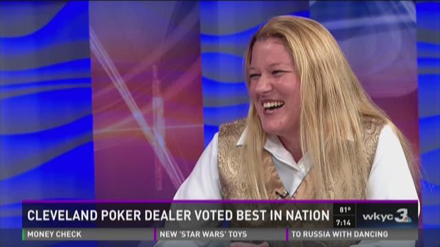 Cleveland poker dealer voted best in Nation