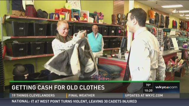 Ways to Save: Getting cash for old clothes