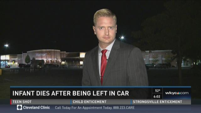 Infant Dies After Being Left In Car