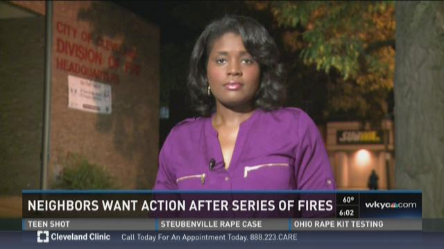 Neighbors Want Action After Fires