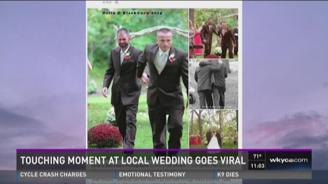 Stepdad's Surprise: Stunning invite down wedding aisle