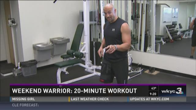 Weekend Warrior: 20-minute workout