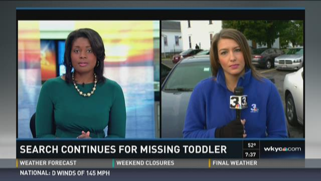 Search for Missing Toddler Sunday AM