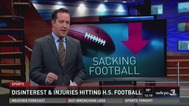 Disinterest, injuries hitting high school football across U.S.
