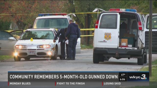Community remembers 5-month-old gunned down