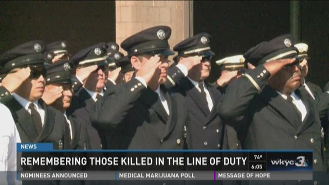 Remembering those killed in the line of duty
